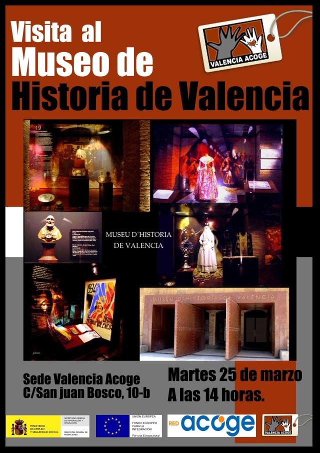 Visita al museo de historia el 25 de marzo